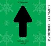web line icon. arrow up   Shutterstock .eps vector #356753549