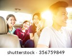 young group people enjoying... | Shutterstock . vector #356759849