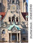 Stock photo new town hall rathaus in hanover germany 356810540