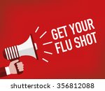get your flu shot | Shutterstock .eps vector #356812088