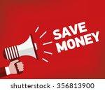 save money | Shutterstock .eps vector #356813900