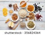 grain free oat free paleo... | Shutterstock . vector #356824364