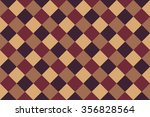brown checked background | Shutterstock .eps vector #356828564