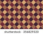 brown checked background | Shutterstock . vector #356829320