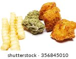 smoking cannabis and the... | Shutterstock . vector #356845010