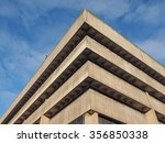 birmingham central library in... | Shutterstock . vector #356850338