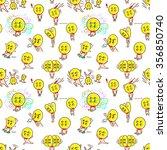 seamless pattern for cute... | Shutterstock .eps vector #356850740