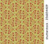 valentine's day pattern.... | Shutterstock .eps vector #356854409