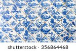 ceramic tile nature and flowers ... | Shutterstock . vector #356864468