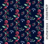 raster seamless pattern with... | Shutterstock . vector #356869829