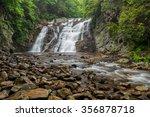 laurel fork falls along the... | Shutterstock . vector #356878718