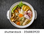 chicken sumo wrestler's stew... | Shutterstock . vector #356883920