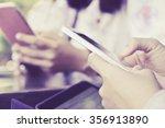 communication technology people ... | Shutterstock . vector #356913890