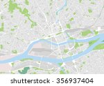 vector city map of nantes ... | Shutterstock .eps vector #356937404