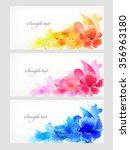 watercolor vector background...   Shutterstock .eps vector #356963180