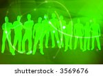 textures style of people...   Shutterstock . vector #3569676