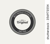 abstract premium quality label... | Shutterstock .eps vector #356973554