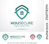 house secure logo template... | Shutterstock .eps vector #356978594