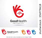 good health logo template... | Shutterstock .eps vector #356978618
