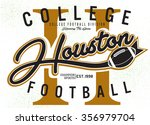 american college football... | Shutterstock .eps vector #356979704