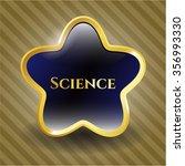 science shiny badge | Shutterstock .eps vector #356993330