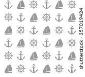 seamless vector pattern of... | Shutterstock .eps vector #357019424