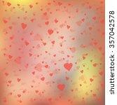 vector background for valentine'... | Shutterstock .eps vector #357042578