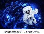 astronaut   elements of this... | Shutterstock . vector #357050948