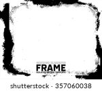 grunge frame   abstract texture ... | Shutterstock .eps vector #357060038