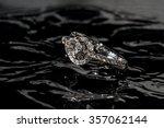 diamond engagement ring... | Shutterstock . vector #357062144