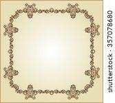 frame border design raster... | Shutterstock . vector #357078680
