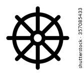 dharmachakra   wheel of dharma  ... | Shutterstock .eps vector #357085433