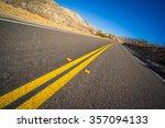 Empty Desert Highway Leads Int...