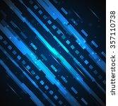 futuristic digital background.... | Shutterstock . vector #357110738