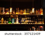 blur alcohol drink bottle at... | Shutterstock . vector #357121439