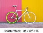 City Bicycle Fixed Gear On...