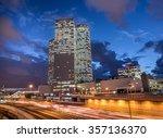 Tel Aviv Night View.