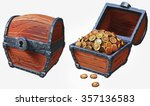 illustration of treasure chest...