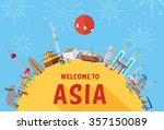 flat design  illustration of... | Shutterstock .eps vector #357150089
