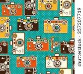 Vintage Colorful Photo Cameras...