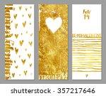 valentine's day vertical... | Shutterstock .eps vector #357217646