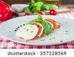 selective focus delisious... | Shutterstock . vector #357228569