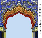indian architecture.indian... | Shutterstock .eps vector #357230849