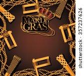mardi gras party favor ... | Shutterstock . vector #357237626