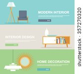 interior design and home... | Shutterstock .eps vector #357270320