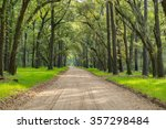 A Lush Canopy Of Live Oaks Wit...