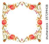 frame for design in the style... | Shutterstock . vector #357299438