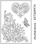 Decorative Love Heart With...