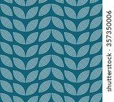 seamless tiled turquoise... | Shutterstock .eps vector #357350006