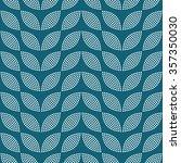 seamless tiled turquoise... | Shutterstock .eps vector #357350030
